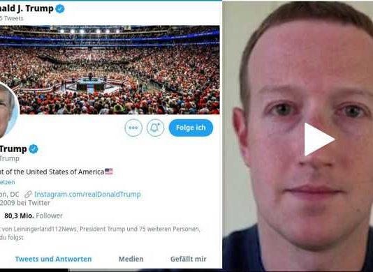 Screenshot Twitter und Foxnews
