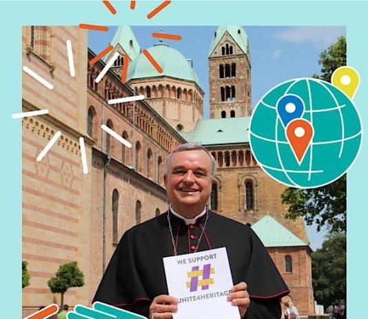 Gehört auch zum digitalen Welterbetag: Eine Foto-Mitmachaktion #Welterbeverbindet (Foto: Bistum Speyer)
