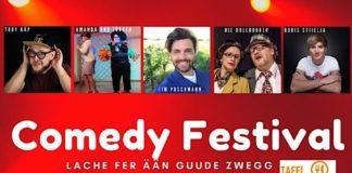 Plakat Comedy Festival (Quelle: GVH)