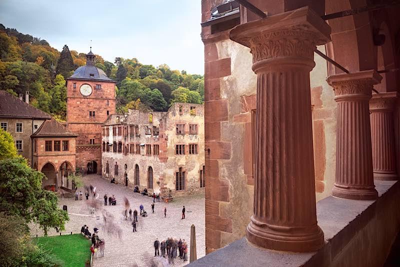 Schloss Heidelberg (Foto: Günther Bayerl/SSG Pressebild)