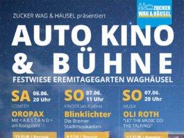 Plakat AUTO KINO & Bühne