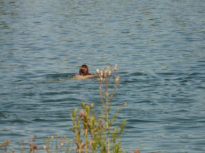 Symbolbild Schwimmen Baggersee See (Foto: Pixabay/Hans Braxmeier)