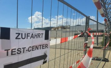 Die Zufahrt zum Testcenter Neustadt an der Weinstraße (Foto: Holger Knecht)