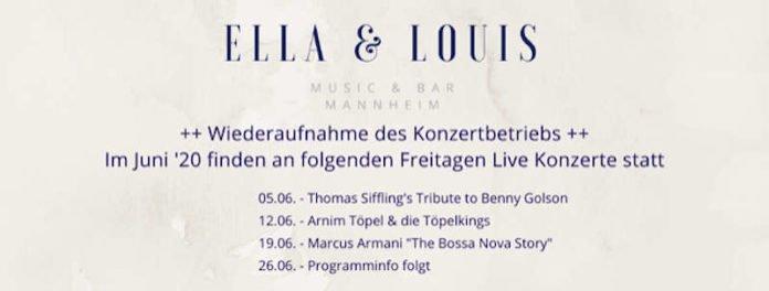 Die nächsten Konzerte im Ella & Louis