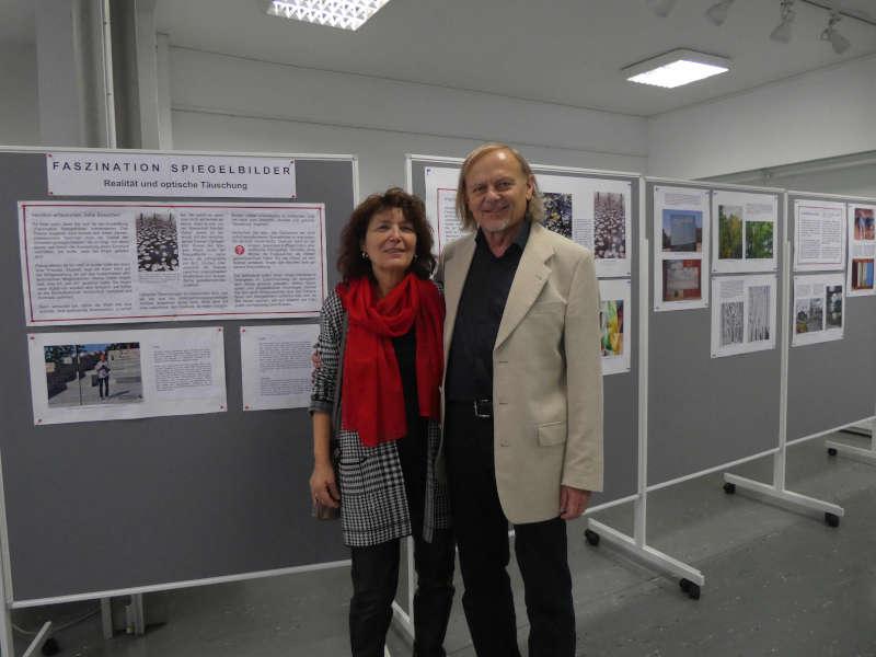 Foto von der Vernissage (Foto: Friedrich Kögel)