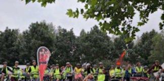 Gruppenfoto Fahrradtour (Foto: Sportbund Pfalz e.V.)