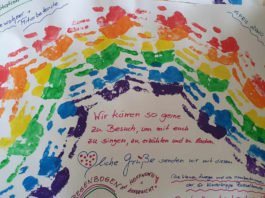 Herzenspost für das Altenheim Rotkreuzstift (Foto: DRK Schwesternschaft Neustadt)