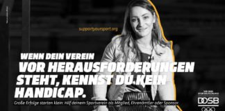Kampagne SupportYourSport - Kristina Vogel (Foto: DOSB/pa.picture alliance)
