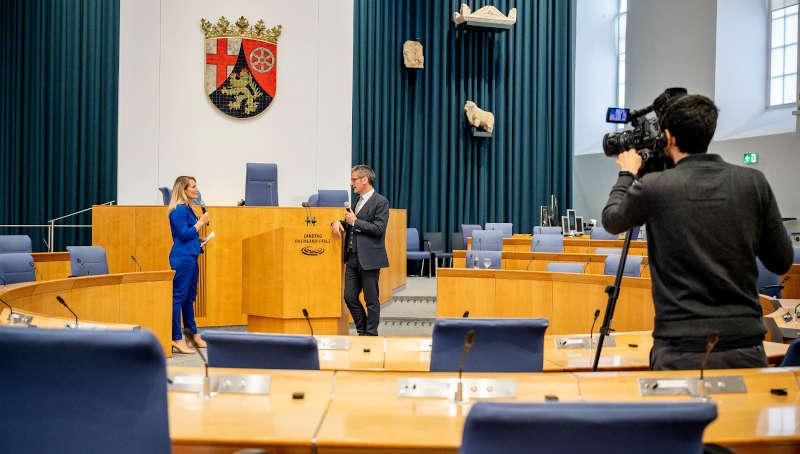 Landtagspräsident Hendrik Hering (Foto: Landtag Rheinland-Pfalz/Torsten Silz)