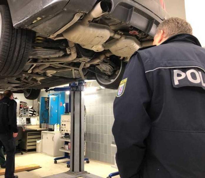 Sichergestellter BMW: Gutachten wegen Erlöschen der Betriebserlaubnis
