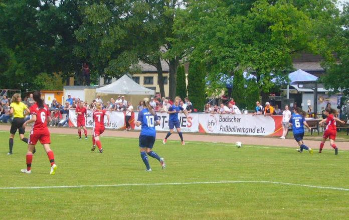 Symbolfoto Pokalrunde-Fußballspiel des Badischen Fußballverbands (Foto: Hannes Blank)