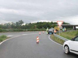 Der PKW drehte sich (Foto: Polizei RLP)