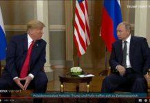 Quelle YouTube: Phoenix - Trump und Putin in Helsinki