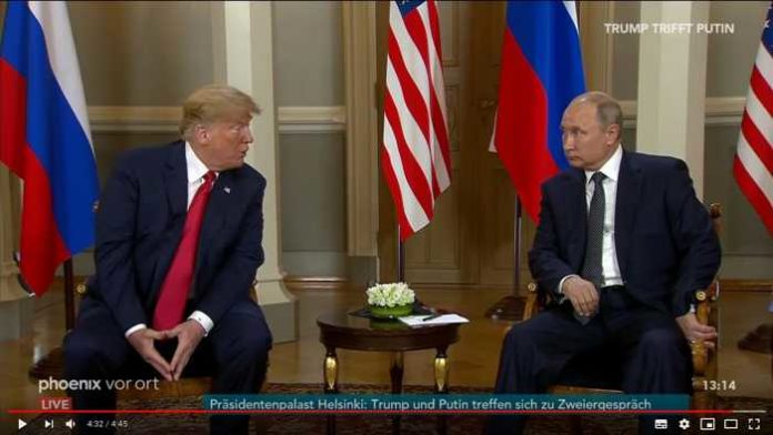 Quelle YouTube: Phoenix - Trump und Putin in Helsinki