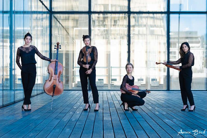 Quatuor Akilone (Foto: Anne Bied)