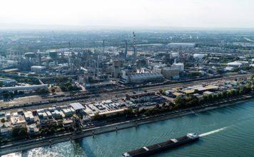 Chemie-Areal der BASF in Ludwigshafen (Foto: BASF SE)