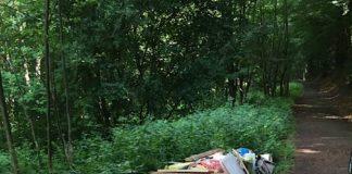 Entsorgter Müll (Foto: Polizei RLP)
