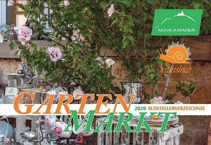 Flyer 21. Pfälzer Gartenmarkt (Foto: BfT Maikammer)
