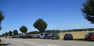 Parksituation am Epplesee (Foto: Stadt Rheinstetten)