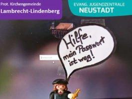Plakat Rallye (Foto: Prot. Kirchengemeinde Lambrecht-Lindenberg)