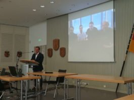 Videokonferenz Neumayer III (Foto: SGD Süd)