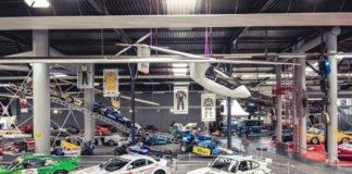 Das Solarflugzeug in der Ausstellungshalle II (Foto: TMSNH)