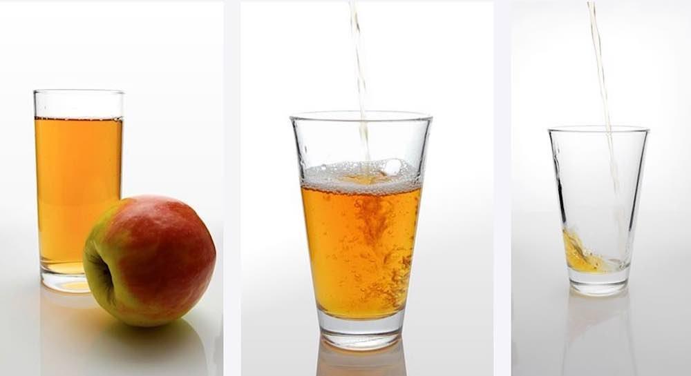 Symbolbild Apfelsaftschorle (Foto: Pixabay)