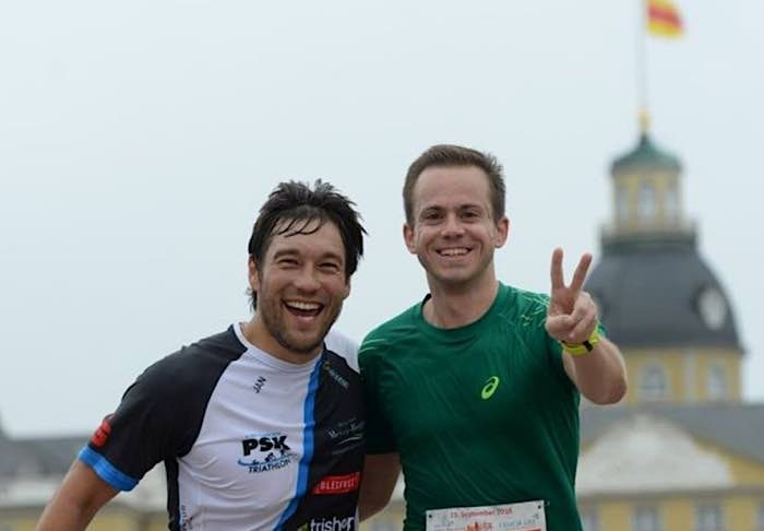 Läufer beim Baden-Marathon (Archivfoto: Marathon Karlsruhe e.V.)