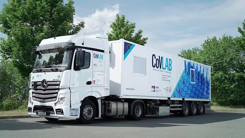 Mobile Corona-Teststation COVLAB (Foto: Baden-Württemberg Stiftung gGmbH)