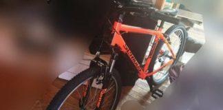 Das auffällige Fahrrad (Foto: privat)