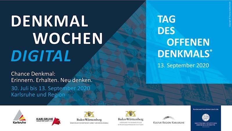 Digitaler Denkmalsommer für Karlsruhe (Foto: KME)
