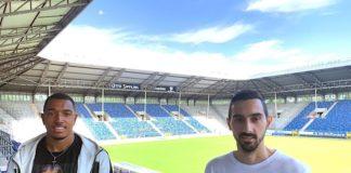 Rafael Garcia und Anton Donkor (Foto: SVW Mannheim)