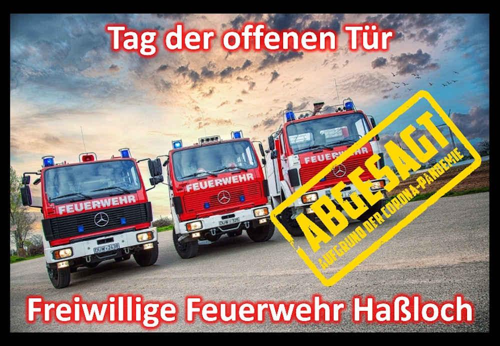 Der Tag der offenen Tür wurde abgesagt (Foto: Feuerwehr Haßloch)