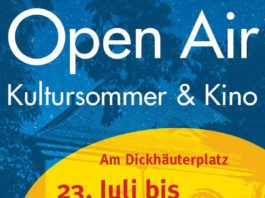 Veranstaltungsplakat (Quelle: Kulisse Ettlingen)