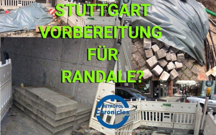 Randale Stuttgart