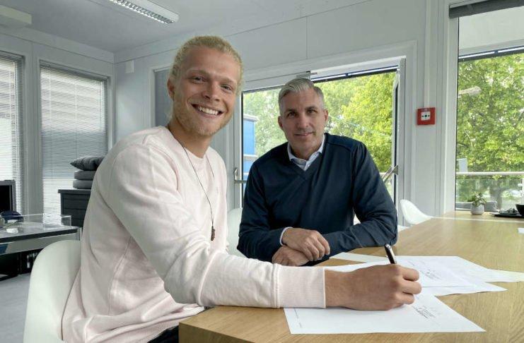 Jesper Verlaat und Jochen Kientz (Foto: SVW Mannheim)