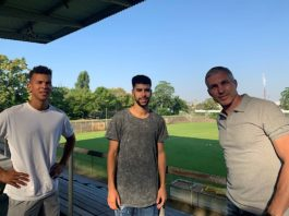 Marcel Costly, Hamza Saghiri und Jochen Kientz (Foto: SVW Mannheim)