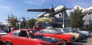 Fahrzeuge beim Benzingespräch im Technik Museum Speyer 2019 (Foto: TMSP)