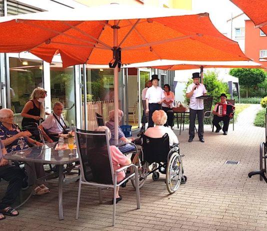 Die Kerweredd im AWO Seniorenhaus (Foto: Stadt Lambrecht)