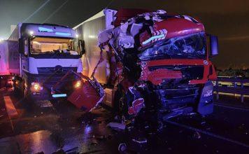 Verkehrsunfall A61 (Foto: Polizei RLP)