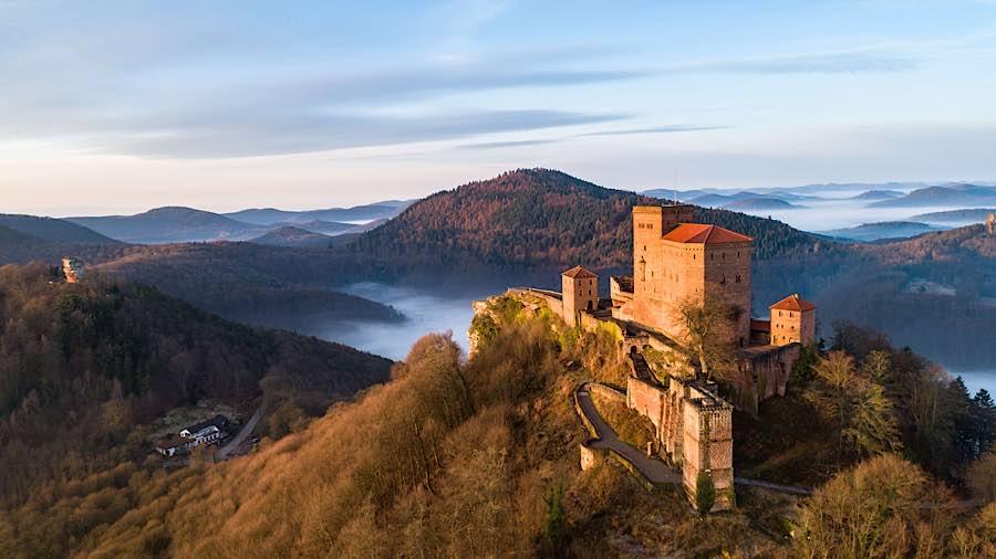 Burg Trifels bei Annweiler (Foto: GDKE Rheinland-Pfalz)