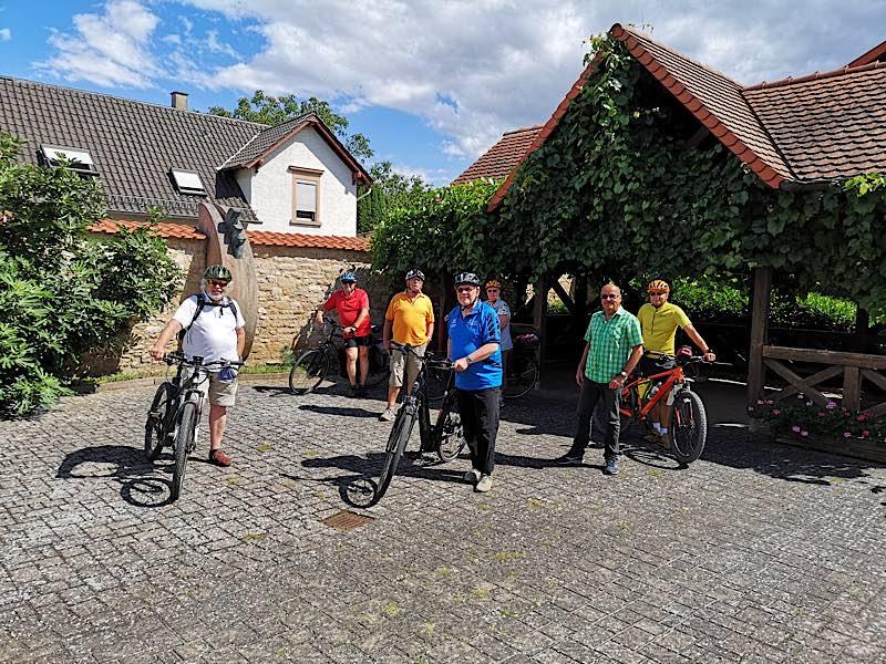 Landratstour in Bissersheim (Foto: Kreisverwaltung Bad Dürkheim)