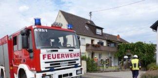 Brand in Einliegerwohnung (Foto: Feuerwehr Neustadt)
