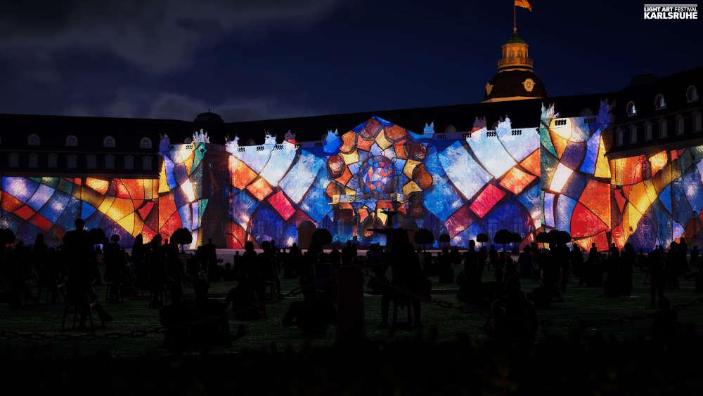 Schlosslichtspiele Karlsruhe 2021, Schlosslichtspiele, 28. August