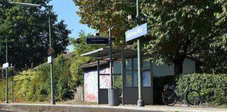 Wird zu einer barrierefreien Mobilitätsstation ausgebaut: Der Bahnhaltepunkt Landau West. (Quelle: Stadt Landau)