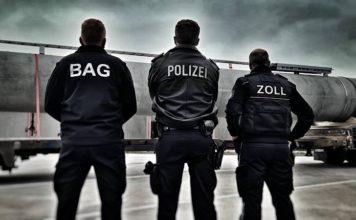 Symbolbild BAG Polizei Zoll (Foto: Polizei RLP)