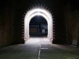 Der Tunnel der Saarlandstraße (Foto: Holger Knecht)