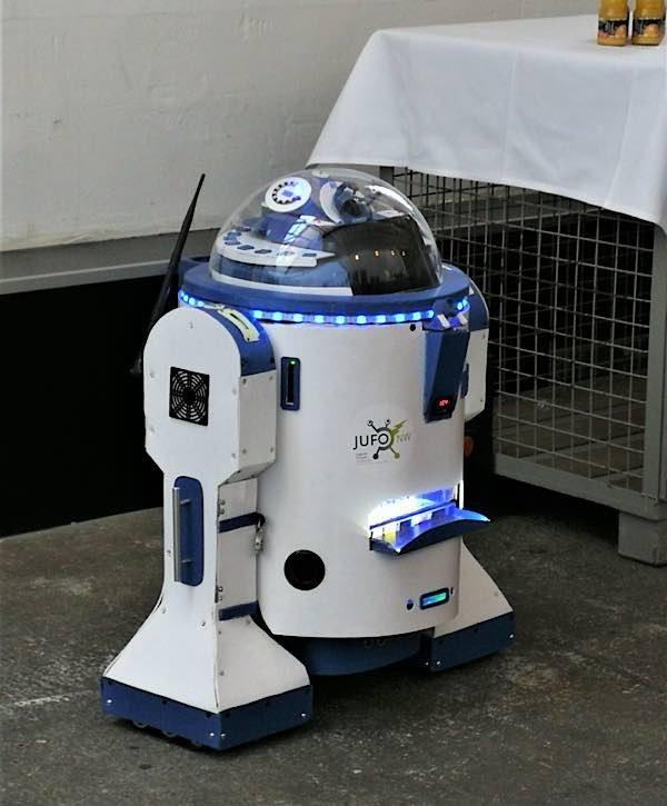 Roboter (Foto: Stadtverwaltung Neustadt)