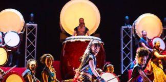 "YAMATO - The Drummers of Japan ""Jhonetsu"" (Foto: Hiroshi Seo)"