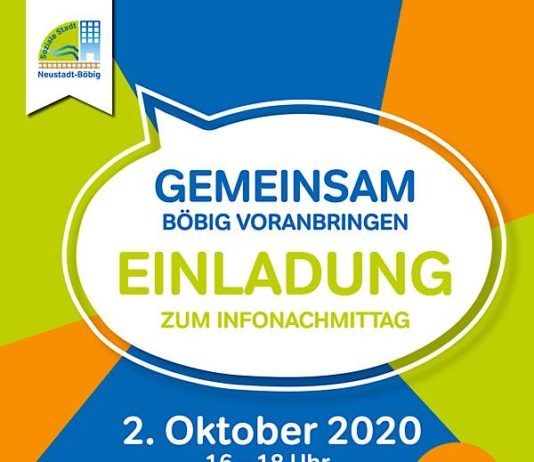 Veranstaltungsplakat (Quelle: Stadtverwaltung Neustadt)